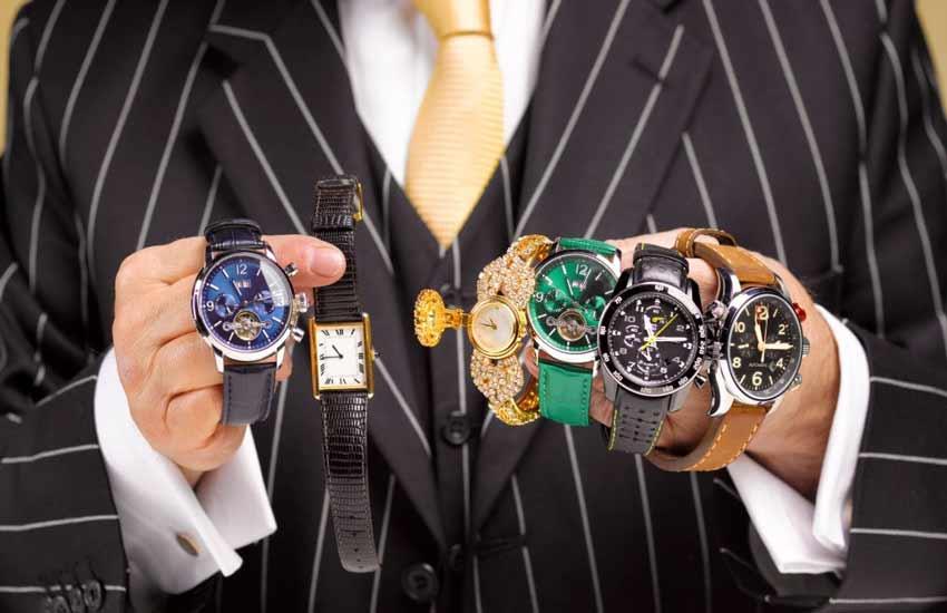ست کردن ساعت با لباس، مردانه