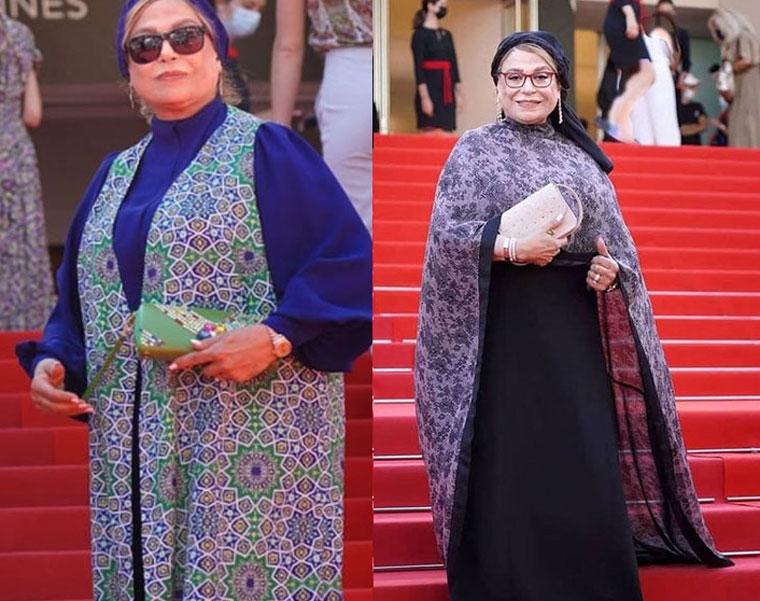 استایل بازیگران ایرانی در کن ۲۰۲۱